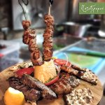 Mixed grilled meat variety for two persons