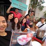 Tang Yuan-making demonstration at Be Tourist Sdn Bhd