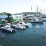 Catamaran Marina - viewed from the hotel