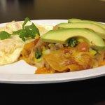 Enchiladas and Eggs