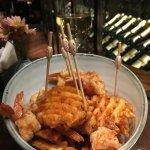 Shrimp Lollypops