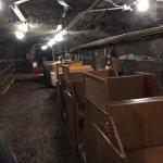 Iron ore mining train