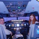 Cabine de pilotage du Boeing 777