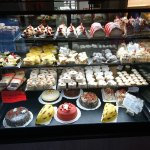 Just one of the cases of fresh delights!