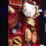 Wir waren heute zum Ferienbeginn beim Mittagessen im Myako. Die Mittagsmenüs sind sehr günstig u