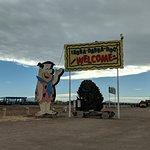 Bedrock City sign