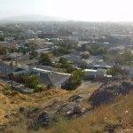 Blick über Istaravshan vom Fort-Hügel aus