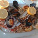mixed seafood dish
