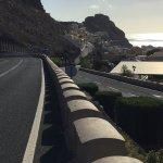 Foto fra tilgangsveje og tunnel til Playa Santiago