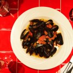 Cozze Mussels in White Vino