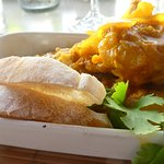 Werners curried fish