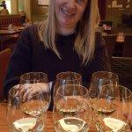 """Twee """"white wine flights"""""""