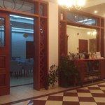 Pyramos Hotel reception area