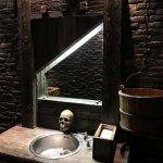Vasque des toilettes