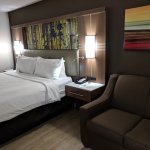 King bed & sofa