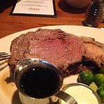 Prime Rib with Roasted Brussel Sprouts and Squash