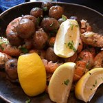 The champion dish .... 2 portions of 400 g langoustine