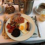 Nice Welsh breakfast!