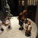 Shepherds in Nativity Scene