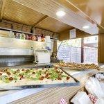 La Baracca avec son Pizza truc & sa terrasse couverte et chauffée