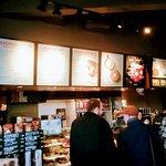The December 2017 Menu for the Starbucks Franchise