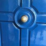Iconic blue door