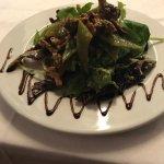 Salade de Girolles parfumé à l'huile de noisettes