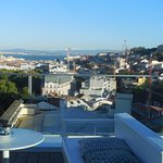 View of Tagus River from Rooftop Bar
