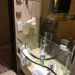 Small cramp wash area