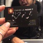 Photo of Dans Le Noir ?