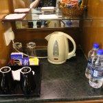 Coffee making area