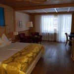 Camera da letto spaziosissima e letto king size