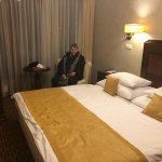 Very comfortable accommodations which included a mini bar.
