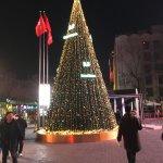 Weihnachtsstimmung in Sanlitun