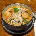 Combination Laksa Noodle Soup