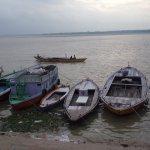 Amanecer sobre el Ganges