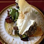 Haggis dish prepared at House of Mark (the baby Cameron loved it)