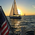Awesome sunset sailing charter in Miami