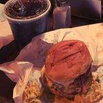 Spiced coleslaw Burger