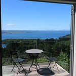 The room, the verandah, Lake Taupo.