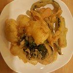 Assorted vegetables fritter