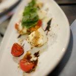 Cherry tomato and burrata salad