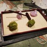 Edible Zen garden (petit-fours)