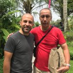 The resort owner, Mr Stefano, who personally sent me off.