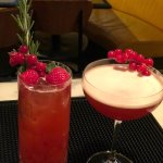 Christmas Cocktail and Mocktail   Merry Fizz - Holly Berries