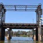 The opening railway bridge