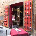 A wine store in Castiglione del Lago