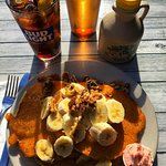 pancakes and cola
