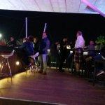 musica (soft) nella terrazza