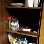 Kitchen closet area.